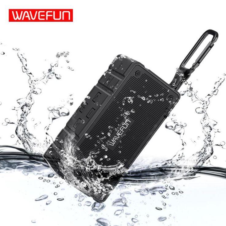 Wavefun Cuboid Bluetooth Speaker Outdoor Bicycle IP65 Waterproof Mic Mini Portable. Support APP: NoCommunication: WirelessSupport Apt-x: NoAudio Crossover: Two-WayWaterproof: YesIntelligent Personal Assistant: NoneRemote Control: NoMaterial: PlasticInterface Type: 3.5mm,USBPlayback Function: MP3Model Number: Wavefun CuboidSupport Memory Card: YesWireless Type: NFC,BluetoothChannels: 2 (2.0)Speaker Type: PortableFrequency Range: OtherFeature: Phone FunctionNumber of Loudspeaker Enclosure…