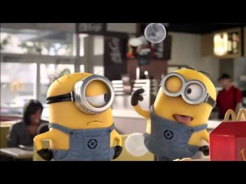 Despicable Me 2 McDonald's Happy Meal - Global Commercial 2013