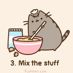 #Pusheen #Cats #Cute #Cooking #Cat #Chef