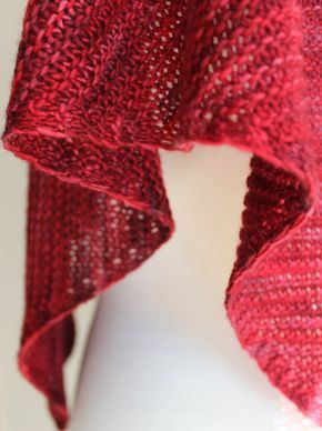 Free Knitting Patterns: Truly Triangular Scarf