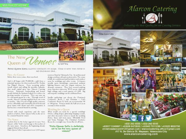 Catch  Alarcon Catering at the Revised edition of WEDDING DIGEST LUXE for LESS ISSUE. Now available for free browsing at www.weddingdigest.com.ph  #WeddingDigestPh #emagazine #LuxeforLess #weddings #iloveweddings #catering