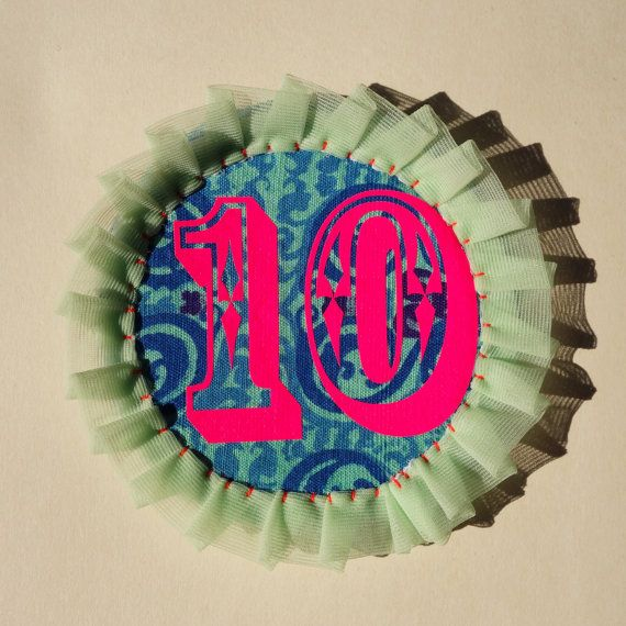 BIRTHDAY Rosette badge. Perfect alternative to a card. by dAKOTArAEdUST