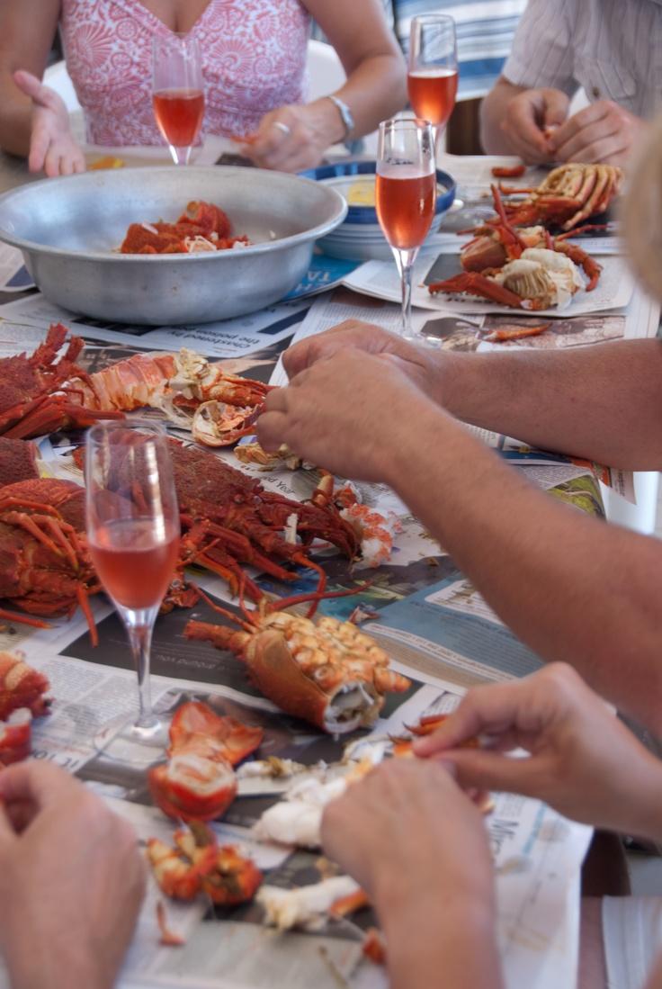 South Africa West Coast Crayfish spread