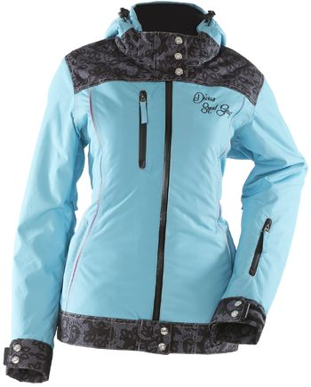 DIVAS LACE COLLECTION JACKET (2015) - BLUE http://www.upnorthsports.com/snowmobile/snowmobile-clothing/snowmobile-jackets/womens-jackets/divas-lace-collection-jacket-2015.html