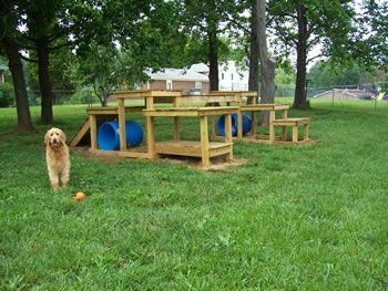 Playground ideas, Dog playground and Dog yard on Pinterest