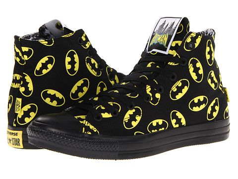 Converse Chuck Taylor® All Star® Hi - DC Comics™ Batman - Zappos.com Free Shipping BOTH Ways