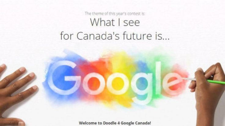 Students from kindergarten to Grade 12 have until May 2 to submit a Google doodle for Canada's 150th birthday.