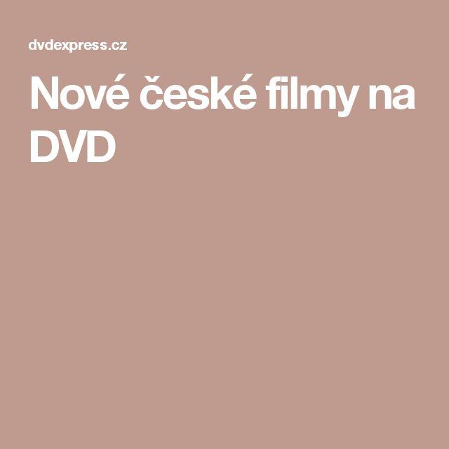 Nové české filmy na DVD