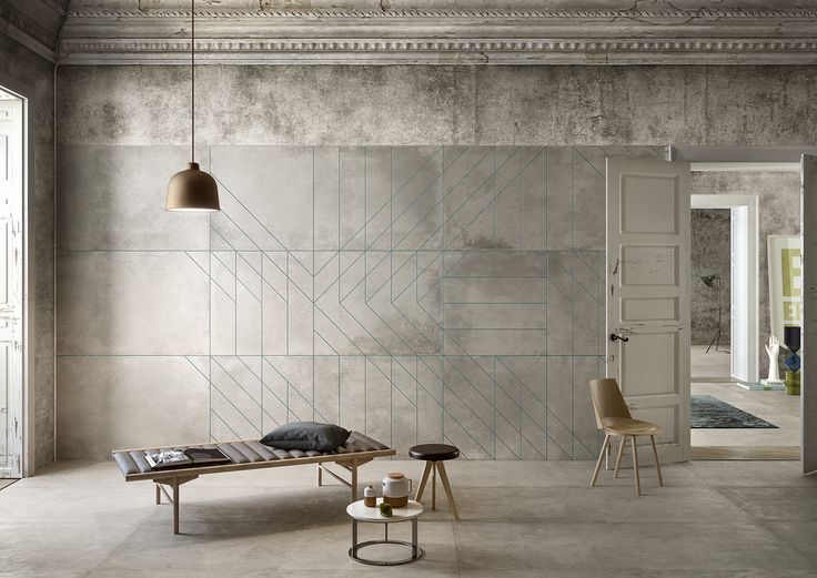 """Matrice"" design by BRH+ for CEDIT - Ceramiche d'Italia. #interiors #environment #Italiandesign"
