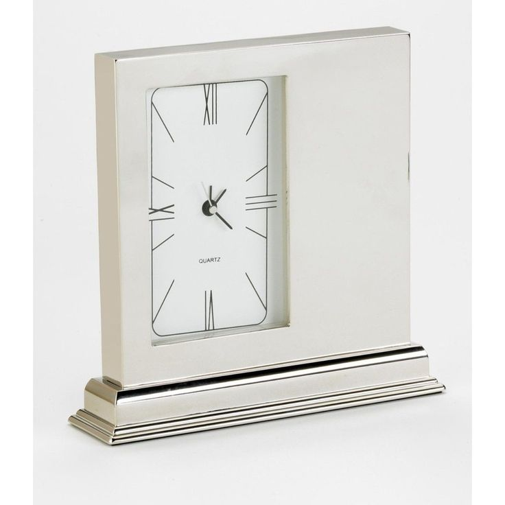 Elegance Mantle Quartz Desktop Clock