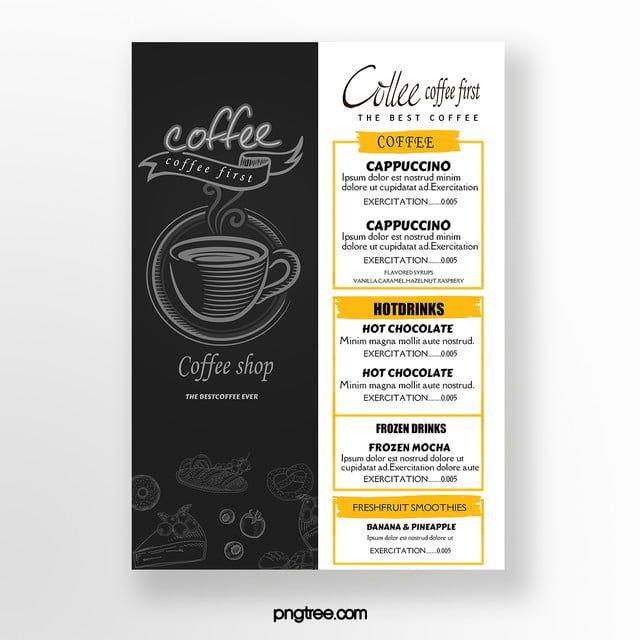 Creative Coffee Menu Coffee Menu Coffee Menu Design Creative Coffee