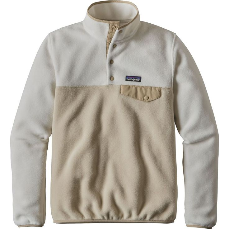 Patagonia - Synchilla Lightweight Snap-T Fleece Pullover - Women's - Bleached Stone/El Cap Khaki