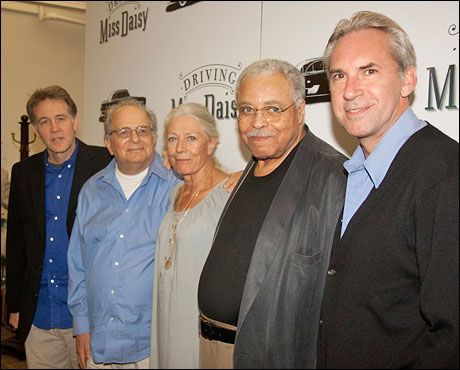 Boyd Gaines, Alfred Uhry, Vanessa Redgrave, James Earl Jones and David Esbjornson
