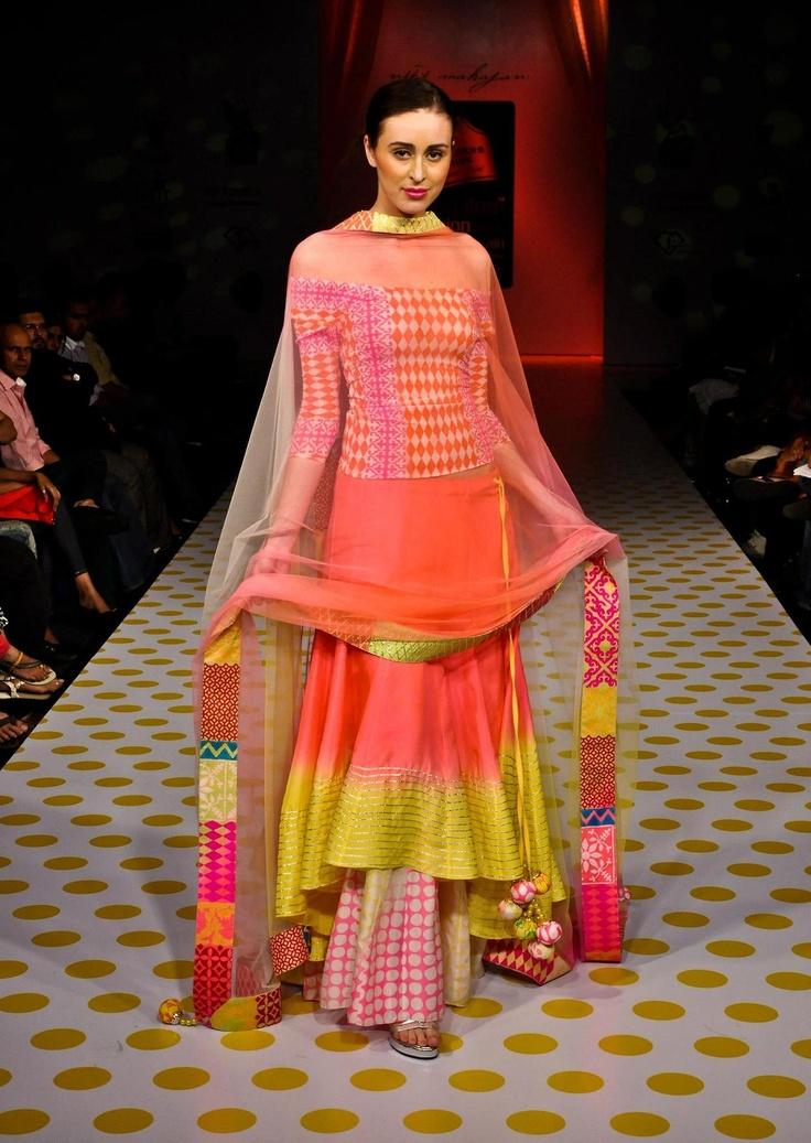 Niki Mahajan at Bangalore Fashion Week