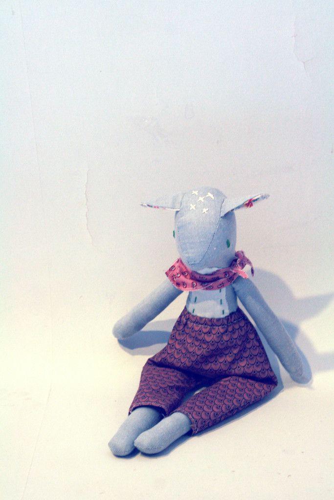 Leroi Wild. Meadow Deer. Handmade Waldorf Doll from the Wild x Dear by Fleur + Dot WildandDear.com