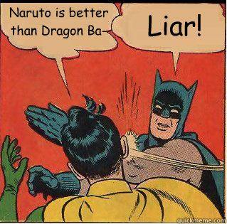 Dragon Ball Z is always better. #DBZ