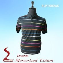 100% Double Mercerized Cotton men polo shirt 2015  best buy follow this link http://shopingayo.space