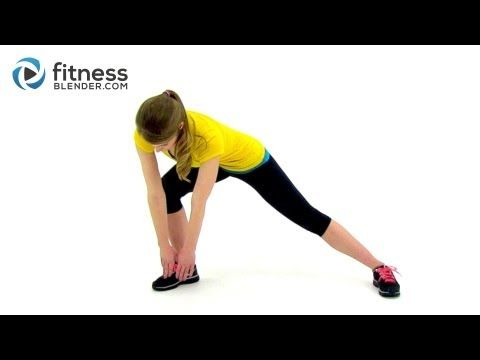 Fat Burning Low Impact Cardio Workout at Home - Easy on the Joints Quiet Workout. Follow fitnessblender on youtube. They have several playlists divided into different levels (beginner, intermediate advanced) and for every area of the body you would like to target.