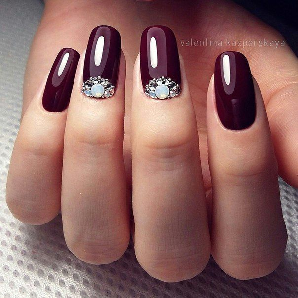 Round Tip Nail Art Designs Nailarts Ideas