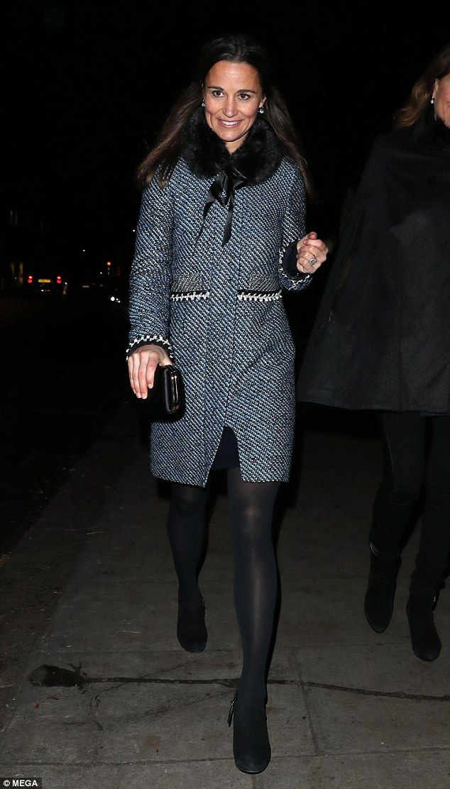 Pippa, James and Carole were spotted leaving The Henry van Straubenzee Carol Concert in Chelsea on Thursday night - held in memory of Henry, a close friend of Prince William, who died aged 18.