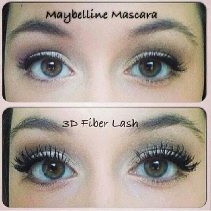 What an amazing difference in the before and after! ! Love my new lashes♡♥♡ Thanks to 3D Fiber Lashes by Younique!!