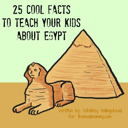 25 facts about Egypt