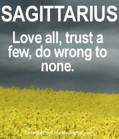 10 Quotes and Sayings About Sagittarius | Trusted Psychic Mediums