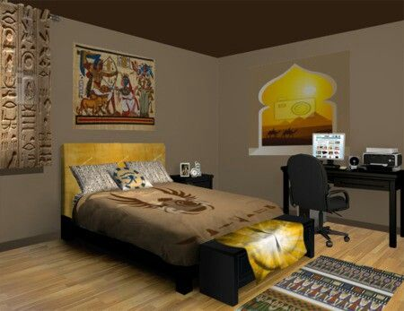 17 Best Images About Egyptian Bedroom Ideas On Pinterest