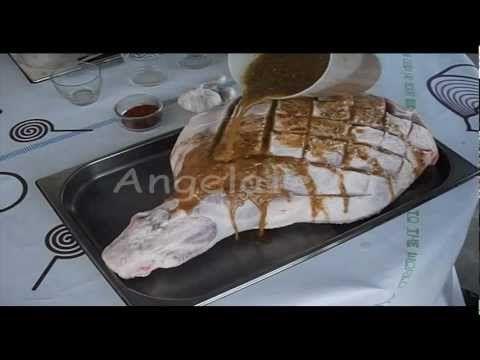 ▶ Pata de cerdo asada,Jamón al horno. (Reducido). - YouTube