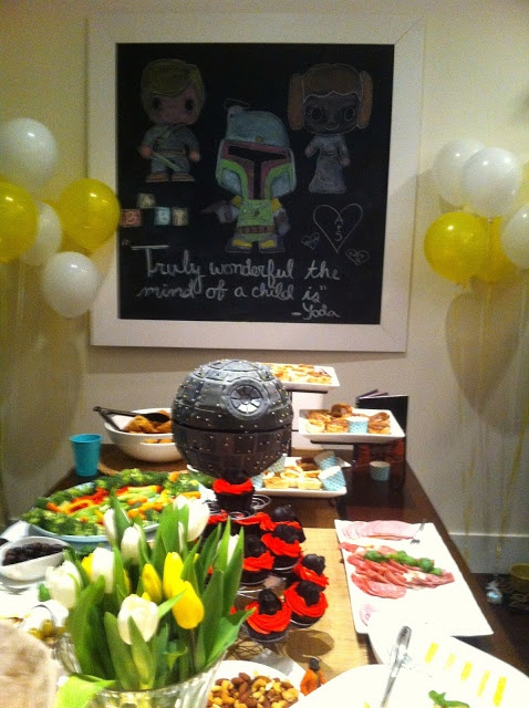 star wars themed baby shower love it baby shower ideas pintere