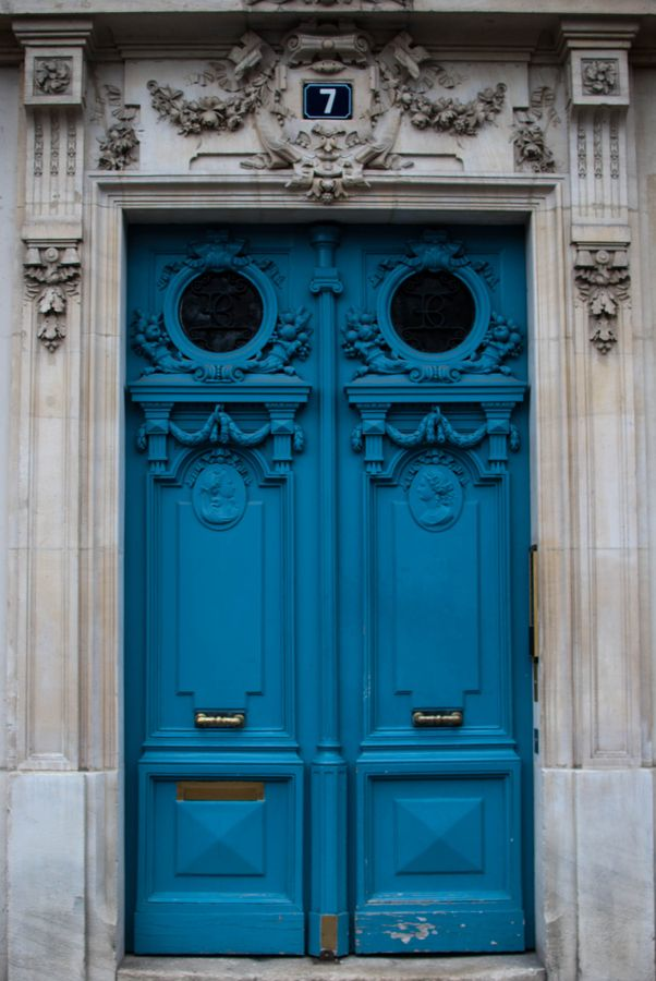 Paris, France - Honestly, I don't think these doors could be any prettier.