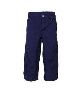 Pantaloni copii trei sferturi 'deep sea', UPF 80, marime mare