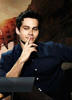 Dylan O´Brien gif | This was what I was missing in my life. Holy sh*t