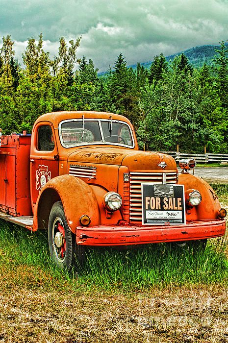 old fire truck for sale hdr trucks for sale and love this. Black Bedroom Furniture Sets. Home Design Ideas