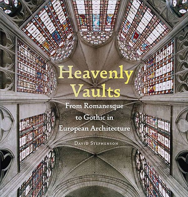 The striking kaleidoscopic patterns of European cathedral ceilings