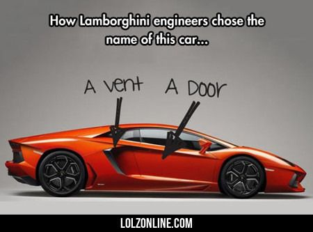 How Lamborghini Engineers Chose The Name Of...