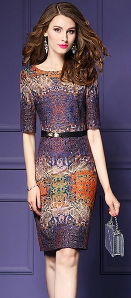 50 best Vestido lapiz images on Pinterest | Formal wear, Elegant ...