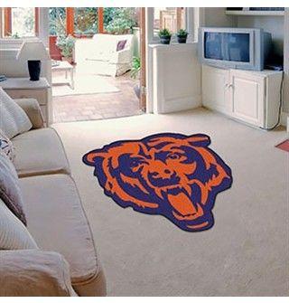 Chicago Bears Bearhead Mat