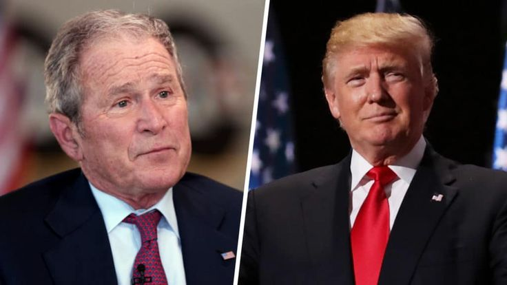 SICK: George W. Bush comes out of the woods to take veiled SHOT at President Trump