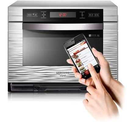 Samsung Zipel oven takes instructions from Android Phone