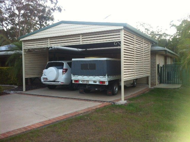 GABLE ROOF CARPORT 10,15,20,25 deg pitch image gallery - Titan Garages and Sheds