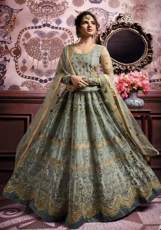 05bdc8176 Amirah Designer Party Wear Anarkali Suit in 2019