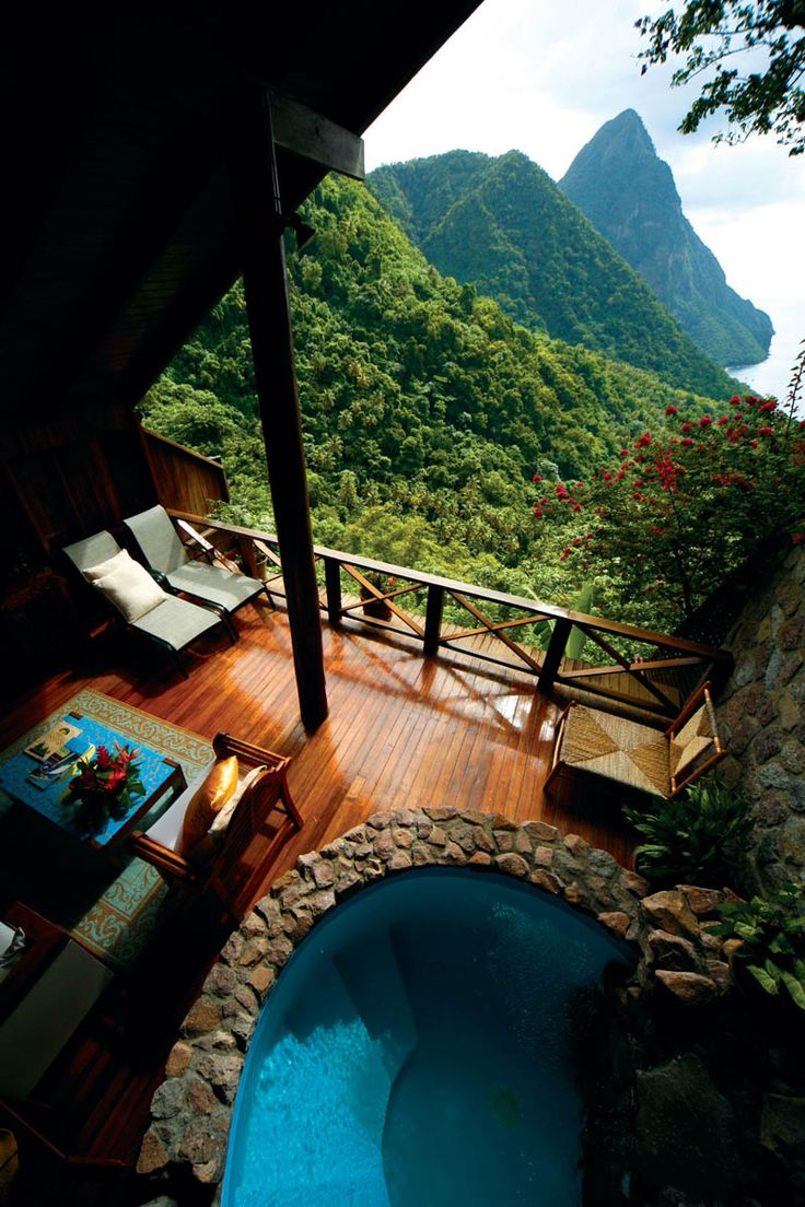 Ladera - St. Lucia Resort | Luxury Caribbean Resort | Photo Gallery $1,000+ a night