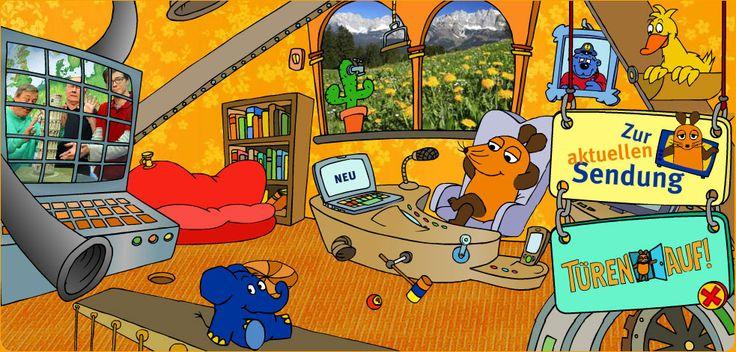 Lach- und Sachgeschichten zum Nachlesen, Maus-Videos und tolle Spiele.