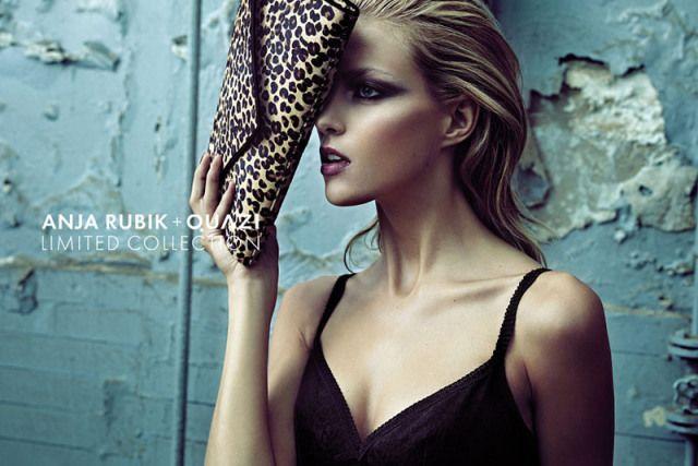 Anja Rubik + Quazi Fall 2010 Campaign | Anja Rubik by Artur Wesolowski