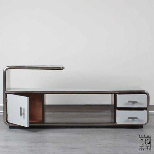what is bauhaus design tubular steel sideboard in. Black Bedroom Furniture Sets. Home Design Ideas