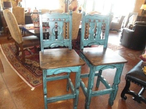 Turquoise Bar Stools - Foter
