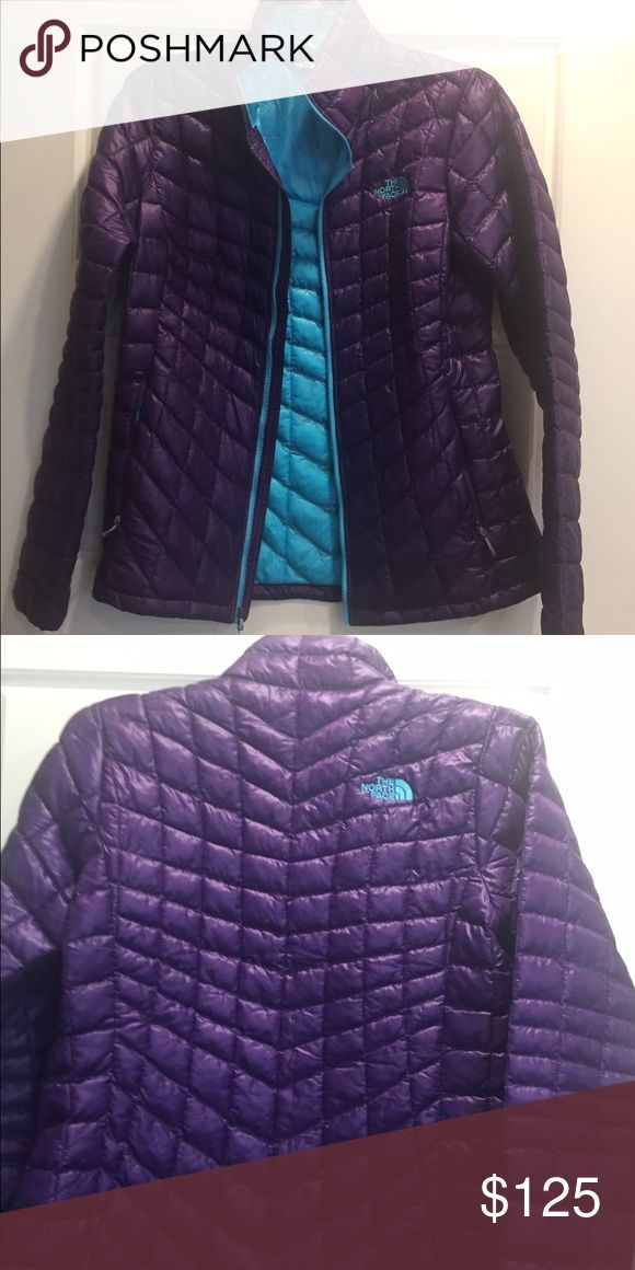 The North Face Thermoball Jacket Like new condition. Striking color. Super lightweight and warm! The North Face Jackets & Coats Puffers