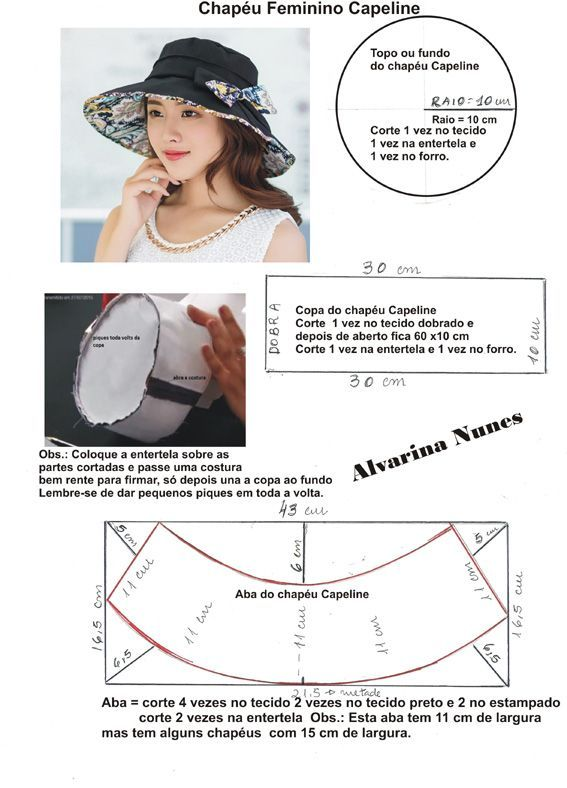 226 best หมวก images on Pinterest | Hat patterns, Sun hats and Beanies