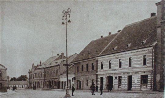 Ulice Svatoborská, konec 19. století